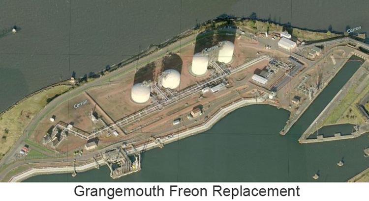 Grangemouth Freon Replacement